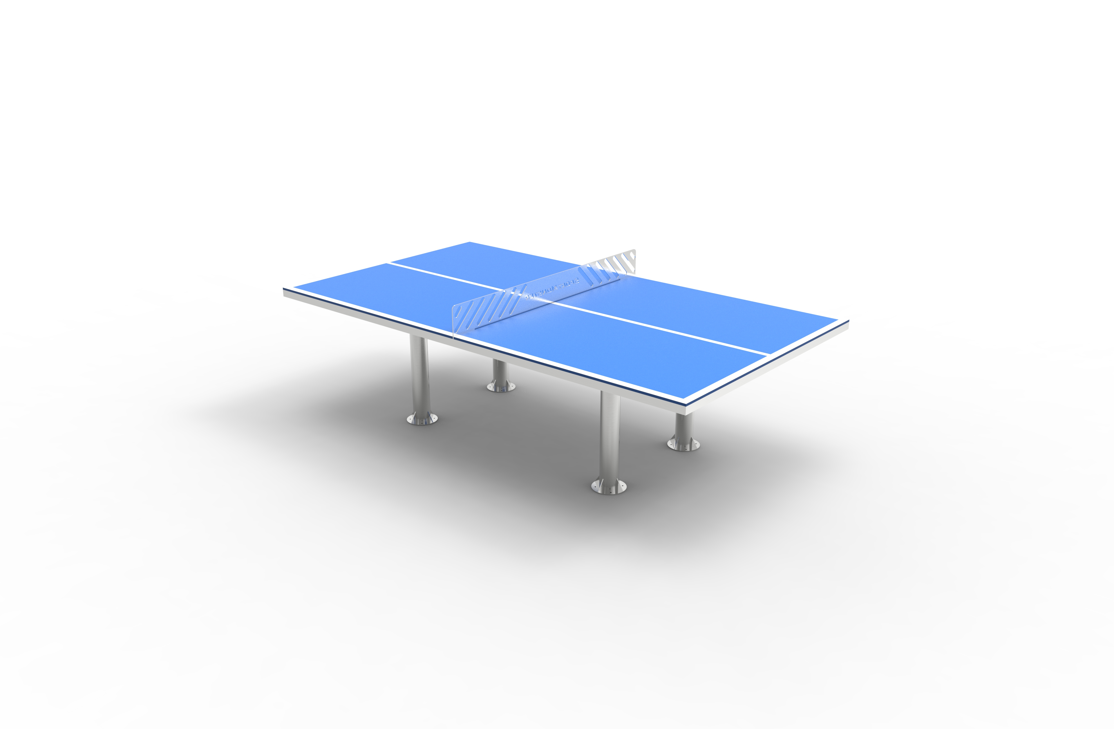Tavolo ping pong easy sport monster - Dimensioni tavolo ping pong ...